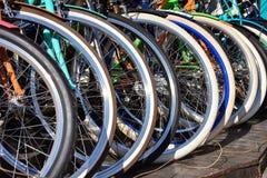 Rodas de bicicleta imagens de stock royalty free