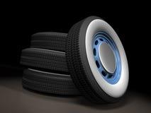 Rodas de carro Imagens de Stock
