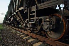 Rodas de carro do frete Fotos de Stock