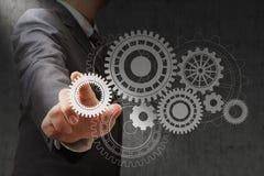 Rodas de cor como símbolos da engenharia Foto de Stock Royalty Free