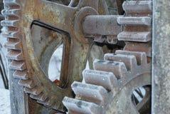 Rodas de engrenagem Imagens de Stock