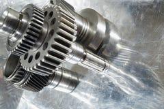 Rodas de engrenagem aeroespaciais Imagens de Stock Royalty Free
