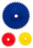 Rodas de engrenagem plásticas Fotografia de Stock Royalty Free