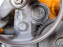 Rodas de giro da roda denteada Foto de Stock