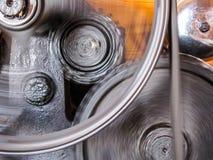 Rodas de giro da roda denteada Imagem de Stock Royalty Free