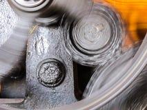 Rodas de giro da roda denteada Imagens de Stock