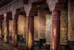 Rodas de Kora Prayer Fotos de Stock