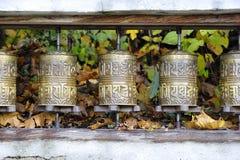 Rodas de oração Fotos de Stock Royalty Free