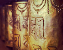 Rodas de oração budistas Imagens de Stock Royalty Free