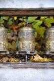 Rodas de oração Imagens de Stock Royalty Free