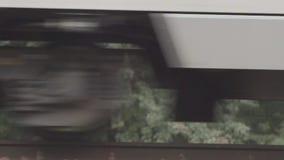 Rodas de trens de alta velocidade filme