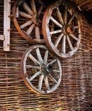 Rodas de vagão Foto de Stock Royalty Free