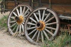 Rodas de vagão Fotografia de Stock