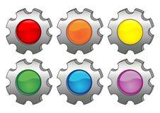 Rodas dentadas Stock Images