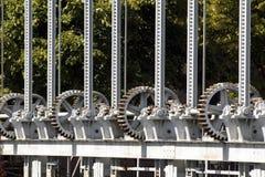 Rodas denteadas da roda Imagens de Stock