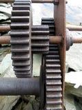 Rodas denteadas do mineiro Imagens de Stock Royalty Free