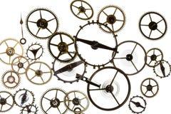 Rodas denteadas do relógio Imagem de Stock Royalty Free