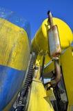 Rodas denteadas e engrenagens oxidadas do motor Imagens de Stock