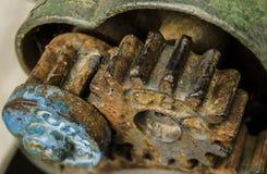 Rodas denteadas oxidadas Imagens de Stock Royalty Free