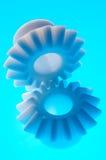 Rodas denteadas plásticas Foto de Stock Royalty Free
