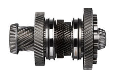 Rodas do metal da engrenagem Imagens de Stock Royalty Free