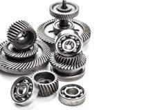 Rodas do metal da engrenagem Fotografia de Stock