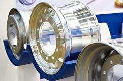 Rodas do metal para caminhões Imagem de Stock Royalty Free