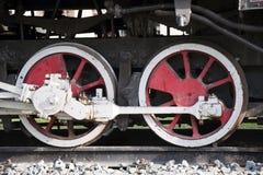 Rodas do motor de vapor Fotografia de Stock Royalty Free