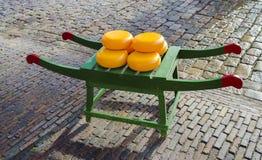 Rodas do queijo holandês Fotografia de Stock Royalty Free