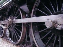 Rodas do trem Fotos de Stock