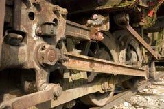 Rodas do trem Imagem de Stock