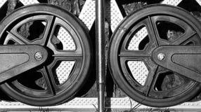 Rodas e aço Fotos de Stock Royalty Free