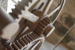 Rodas e vapor da roda denteada imagem de stock royalty free