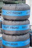 Rodas embaladas Fotografia de Stock Royalty Free