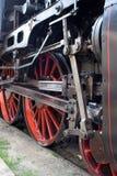 Rodas locomotivas Fotografia de Stock