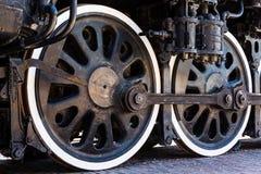 Rodas locomotivas velhas Fotografia de Stock