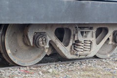 Rodas Railway Imagens de Stock