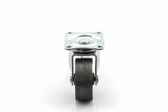 Rodas rodas do metal ou do aço industrial do rodízio Fotos de Stock