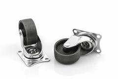 Rodas rodas do metal ou do aço industrial do rodízio Fotografia de Stock Royalty Free