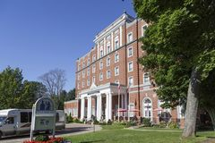 The Rodd Hotel in Charlottetown royalty free stock image