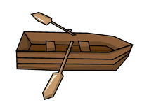 roddbåt Arkivbild
