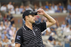 Roddick Andy at US Open 2008 (4) Stock Image