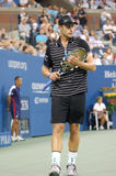 Roddick Andy at US Open 2008 (5) Stock Photos