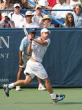 Roddick: Tennis Player Backhand Royalty Free Stock Photography
