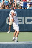Roddick: Tennis Player Backhand Royalty Free Stock Photos