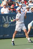 Roddick: Tennis Player Forehand Royalty Free Stock Photo