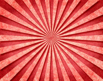 Rode 3-D Zonnestralen royalty-vrije illustratie