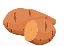 rode aardappel Royalty-vrije Stock Foto