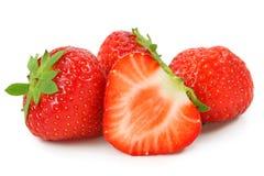Rode aardbeien Royalty-vrije Stock Foto's