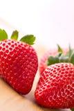 Rode aardbeien Royalty-vrije Stock Foto